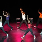 FIREWORK - Choreographer: Aurelia Michael - Dancers: Erica Alston, Morgan Barcus, Symphony English, Khoudia Ndaw, Raphael Portuondo, Diamond Roach, Troy Saunders -  Photo: Erin Baiano